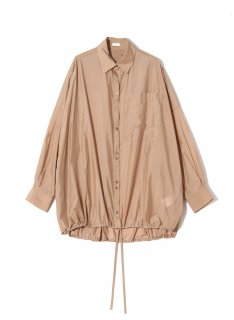 <img class='new_mark_img1' src='https://img.shop-pro.jp/img/new/icons1.gif' style='border:none;display:inline;margin:0px;padding:0px;width:auto;' />Rito (21SS)SEE THROUGH NYLON SHIRT Camel