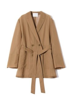 <img class='new_mark_img1' src='https://img.shop-pro.jp/img/new/icons1.gif' style='border:none;display:inline;margin:0px;padding:0px;width:auto;' />Rito (21SS)DOUBLE BREASTED JACKET Camel