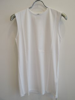 <img class='new_mark_img1' src='https://img.shop-pro.jp/img/new/icons1.gif' style='border:none;display:inline;margin:0px;padding:0px;width:auto;' />ATON(21SS)SLEEVELESS TOP White