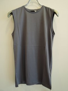 <img class='new_mark_img1' src='https://img.shop-pro.jp/img/new/icons1.gif' style='border:none;display:inline;margin:0px;padding:0px;width:auto;' />ATON(21SS)SLEEVELESS TOP Blue Gray