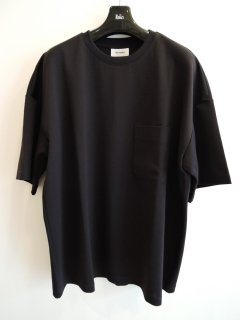 <img class='new_mark_img1' src='https://img.shop-pro.jp/img/new/icons1.gif' style='border:none;display:inline;margin:0px;padding:0px;width:auto;' />THE RERACS(21SS)SUPER FINE COTTON MILANO RIB  SUPER OVER SIZE POCKET T-SHIRTS(DARK NAVY)