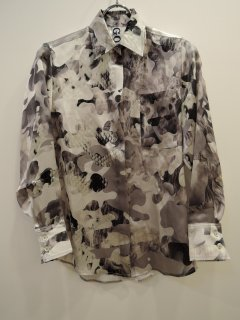 <img class='new_mark_img1' src='https://img.shop-pro.jp/img/new/icons1.gif' style='border:none;display:inline;margin:0px;padding:0px;width:auto;' />GON(21SS)Classic Shirt Silk Camouflage