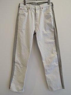 BLESS デニムパンツ(21SS)white/grey
