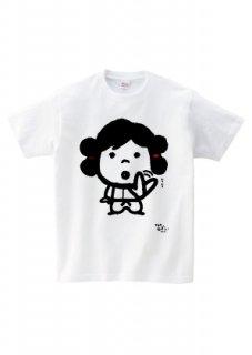 KOJIKIシリーズ Tシャツ オオクニヌシムリムリ ホワイト/ネイビー
