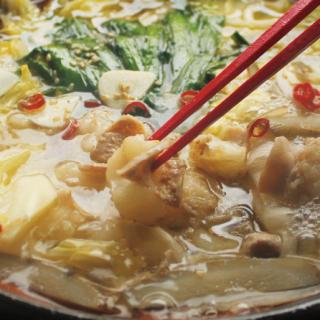2種スープの『倭からん』もつ鍋セット