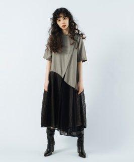 ZIP FLARE DRESS