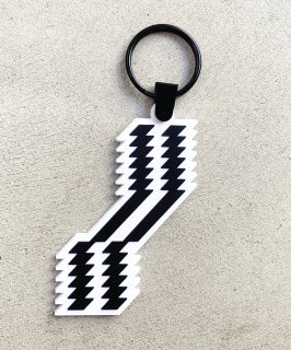 ZIGZAG KEY RING