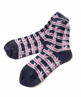 RIBBON JACQUARD SOCKS