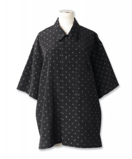 DOT STAR MILITARY PAJAMA SHIRT