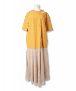 LETTER SHIRT DRESS