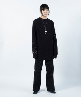 <img class='new_mark_img1' src='https://img.shop-pro.jp/img/new/icons13.gif' style='border:none;display:inline;margin:0px;padding:0px;width:auto;' />LACE MIX KNIT