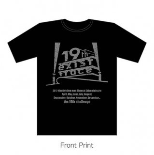 the 19th challenge (FOXパロディ) Tシャツ / シルバー