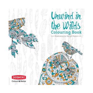 DERWENT Colouring Book 【塗り絵本】 送料無料