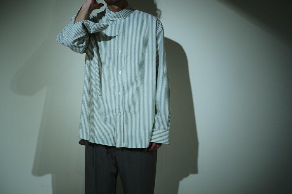 Cristaseya high collar mao shirt