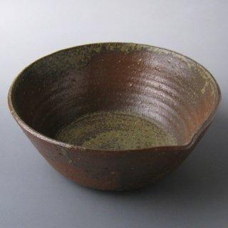 灰釉菓子鉢 東憲 作