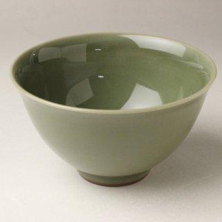 青磁茶碗 三代 諏訪蘇山 造