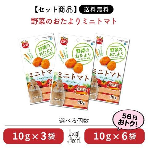 【セット商品】野菜のおたより ミニトマト ミニマルランド 10g×6袋 | マルカン