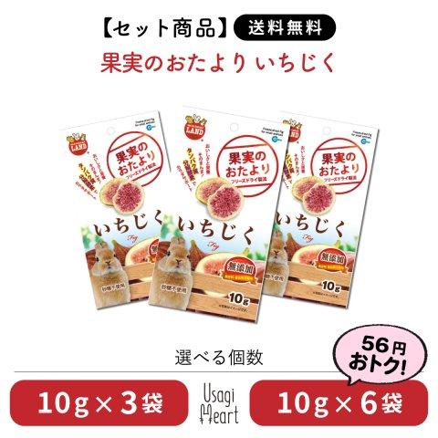 【セット商品】果実のおたより いちじく ミニマルランド 10g×6袋 | マルカン