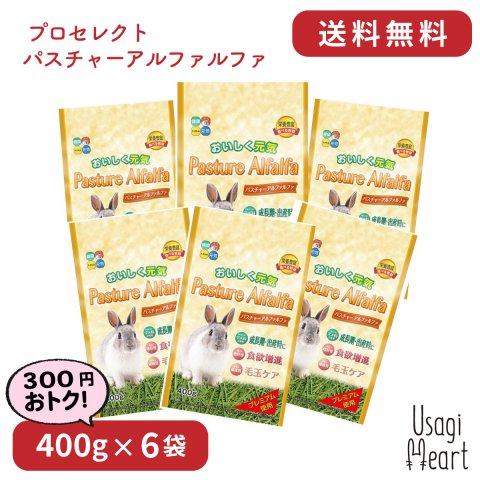 【セット商品】パスチャーアルファルファ プロセレクト 400g×6袋 | ハイペット