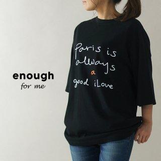 ParisロゴTシャツ