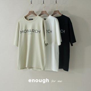 MONARCHロゴTシャツ