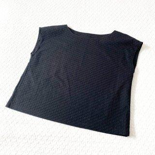 リンドブラウス 材料キット(サークルレース・黒)