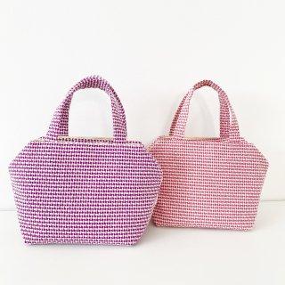 ツインズバッグ(ウール変わり織2色)