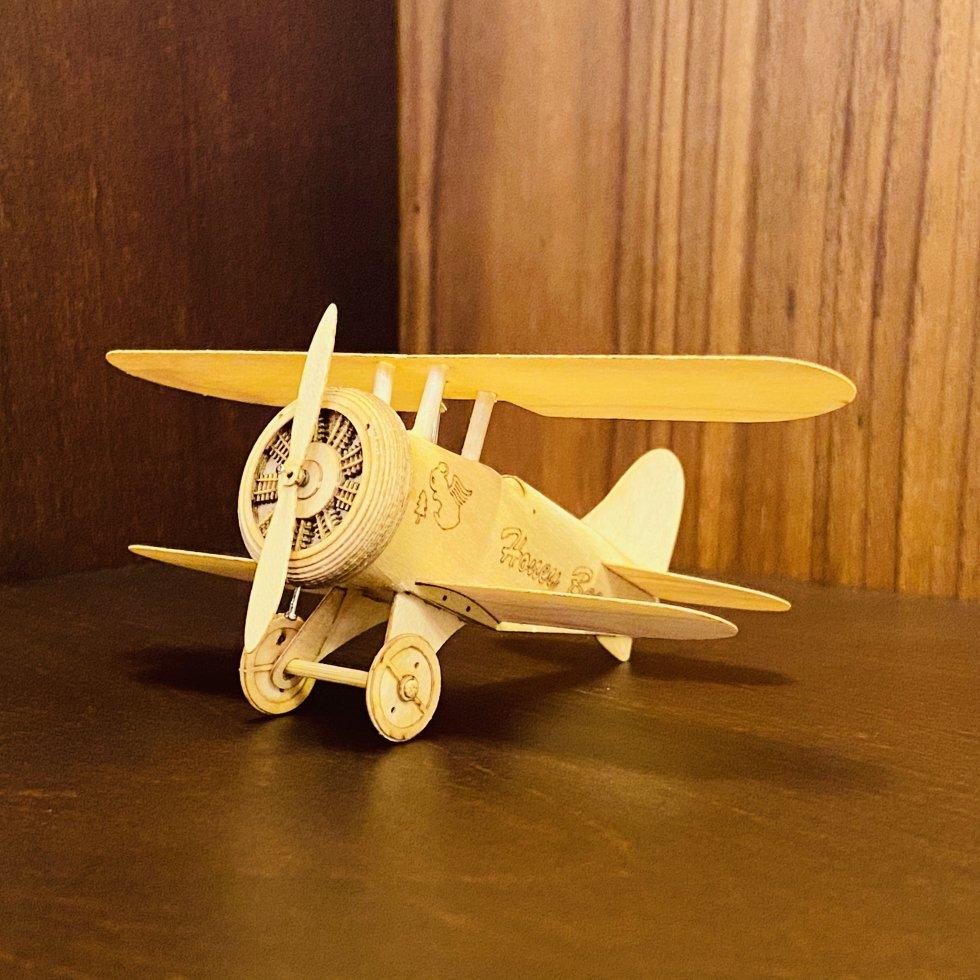 【キット】Honey Bee mk1(Biplane Type EB3CS mk1)
