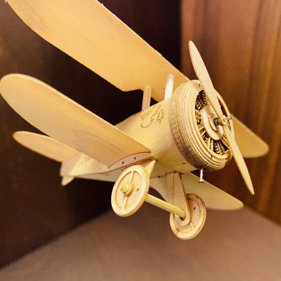 【完成品】Honey Bee mk1(Biplane Type EB3CS mk1)