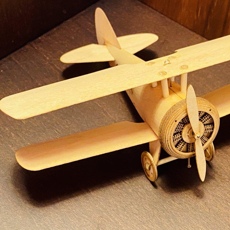 【完成品】Aurora mk2(Biplane Type EF1ES mk2)