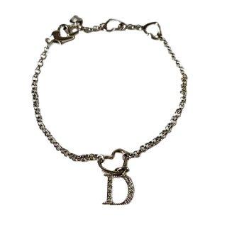 Dior<BR> ディオール D ロゴブレスレット