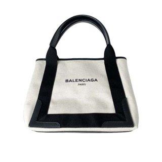 BALENCIAGA <BR> バレンシアガ ネイビーカバストートバッグ