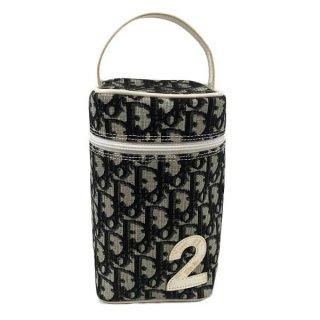 Dior<BR> ディオール トロッター柄 PVC バニティバッグ