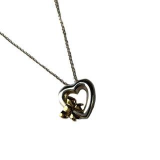 Tiffany & Co. ティファニー ハート リボン ネックレス