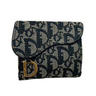Dior<BR> ディオール サドル トロッター キャンバス 財布