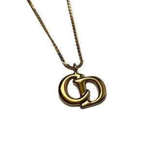 Dior <BR>ディオール ロゴ ネックレス