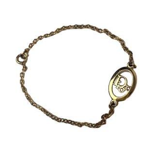 Dior <BR>ディオール ロゴ チェーン ブレスレット