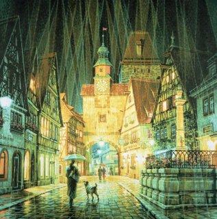 ローテンブルクの雨