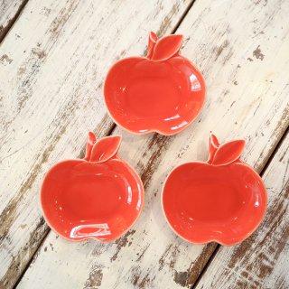 赤りんご小皿
