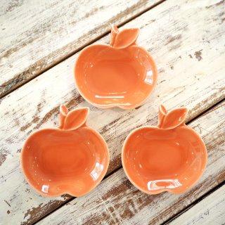 橙りんご小皿