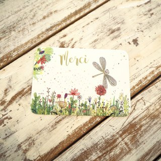 メルシーとんぼポストカード