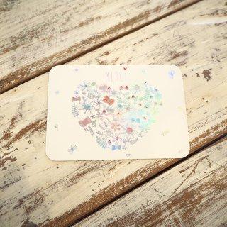 メルシーハートポストカード