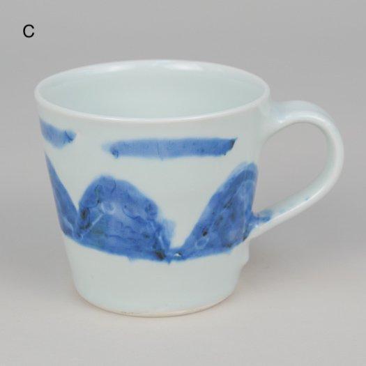 マグカップ (磁器) 【2種類CD】 <br> ※一点もの