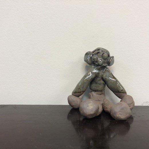 オブジェ#12:フクヤマ人形<br>一点もの