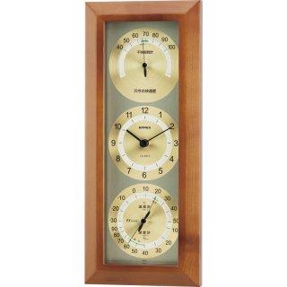 エンペックス 快適モニタ1台4役不快指数計・時計・温度・湿度計