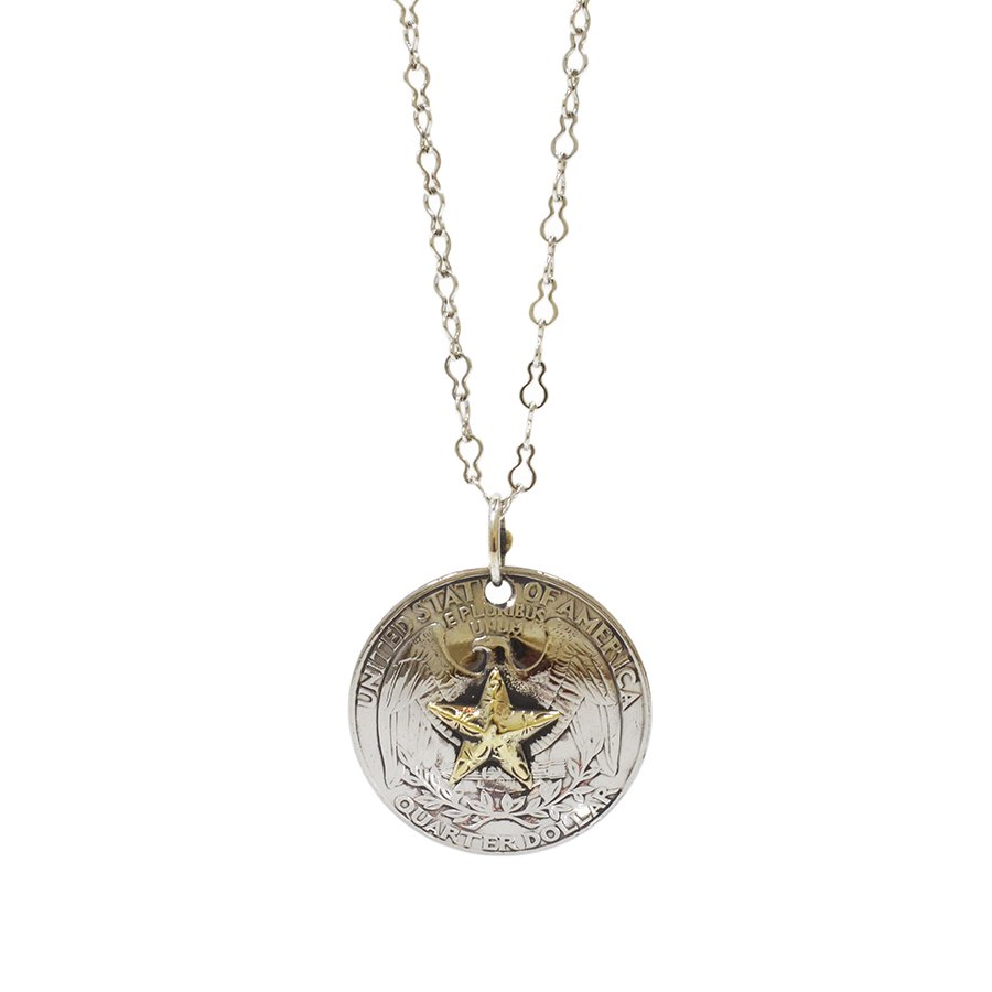 AMP JAPAN 15AD-101 Star Quarter Concho Necklace