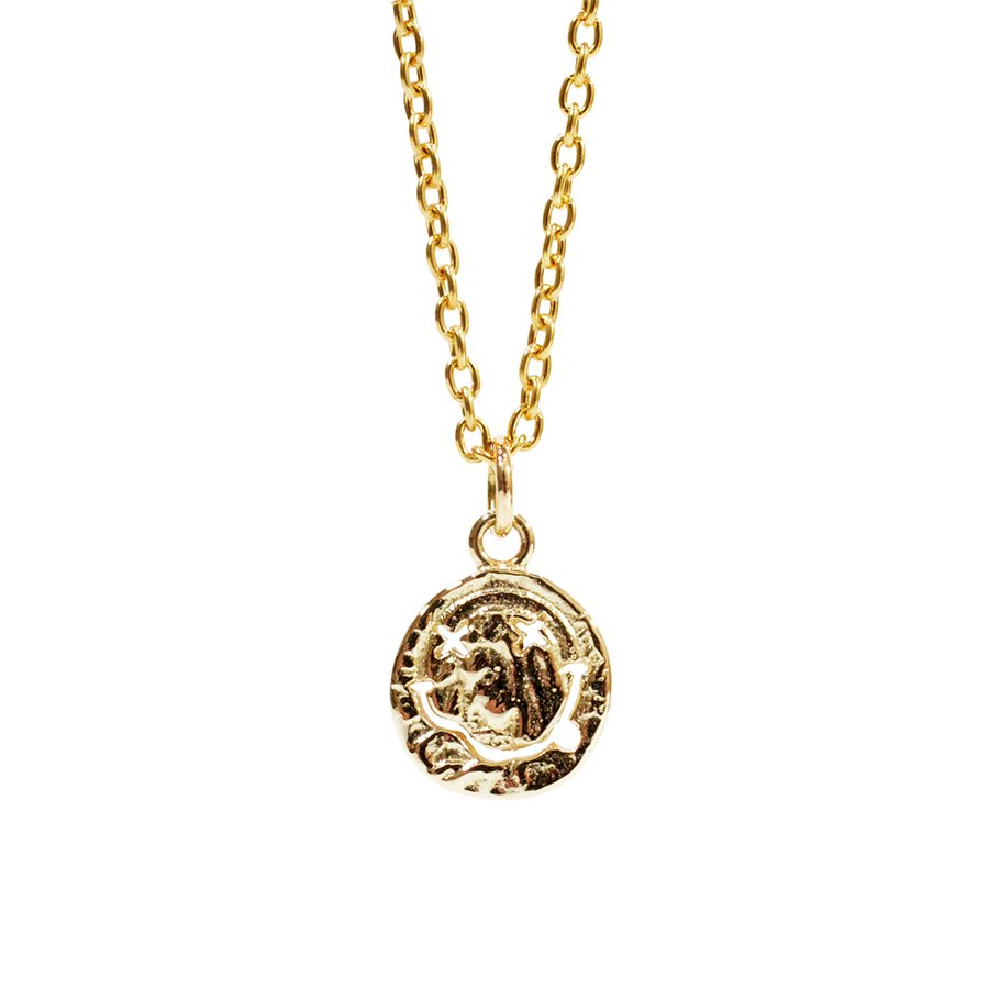 AMP JAPAN 13AH-290 nirvana smile Gold Necklace