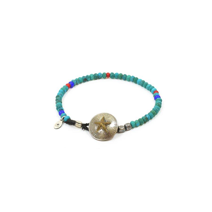 AMP JAPAN 15AHK-416 Star Dime Concho Beads