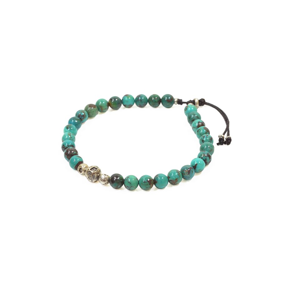 AMP JAPAN 14AH-413 hallmark bracelet -turquoise-