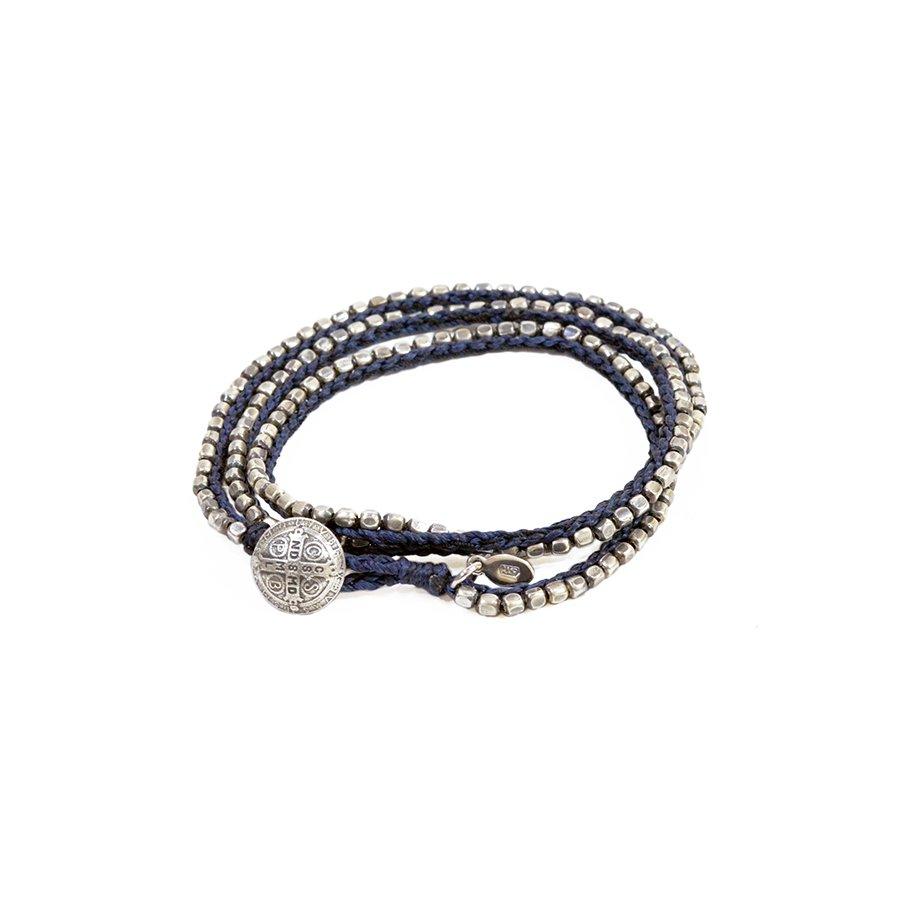 AMP JAPAN 13AH-331 Brass Beads Bracelet -triple-